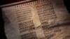 Pergamen ctností, který byl vodítkem k nalezení Merlinovy laboratoře