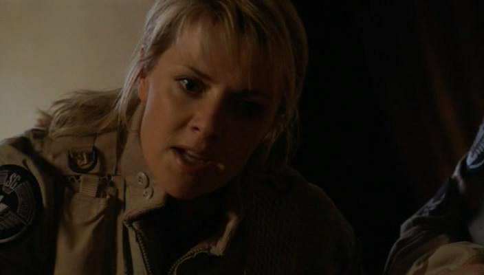 Sam nechce Jacka opustit, ale dává ji rozkaz odejít