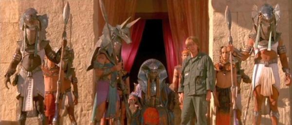 Z filmu Hvězdná brána