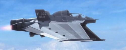 F-302 Vesmírný bojový letoun