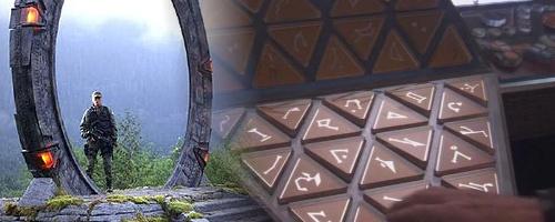Technologie hvězdné brány, DHD a symboly