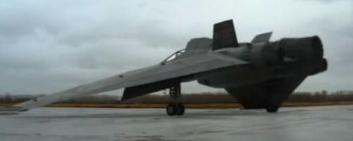 X-302 Prototyp vesmírného bojového letounu
