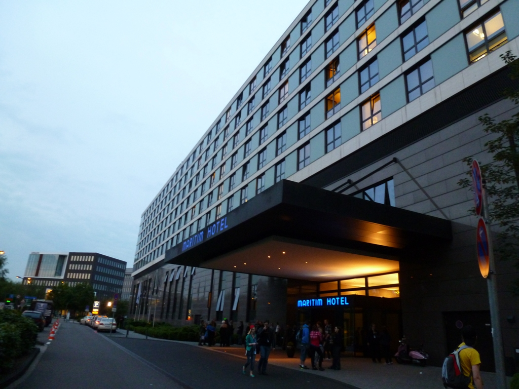 Hotel Maritin, kde se pořádal Fedcon