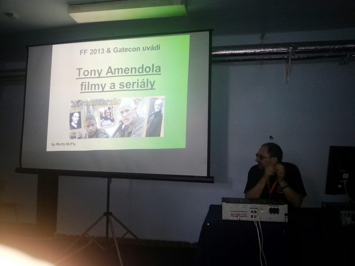Přednáška Tony Amendola ve filmech a seriálech