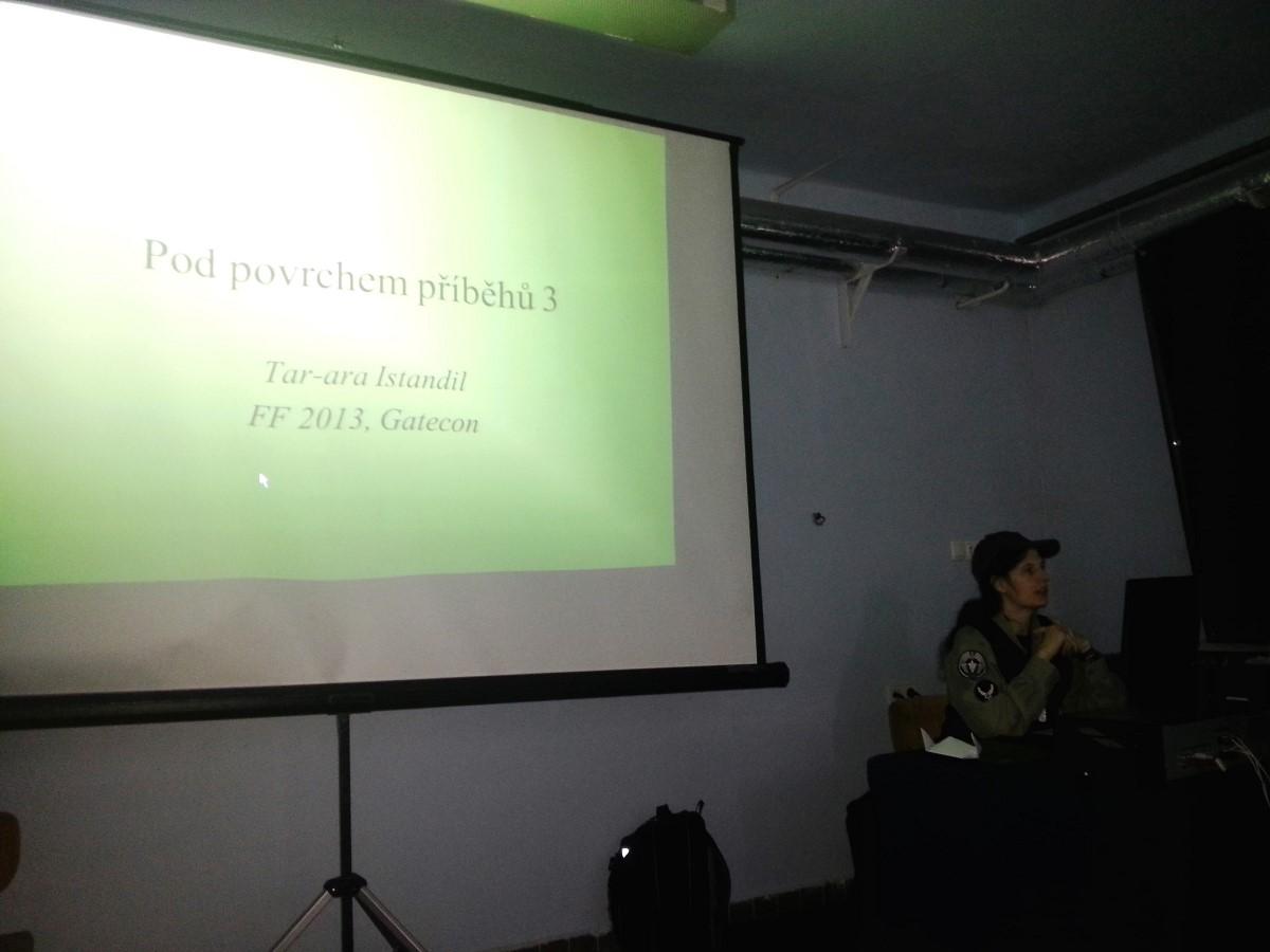 Jedna z přednášek na Gateconu