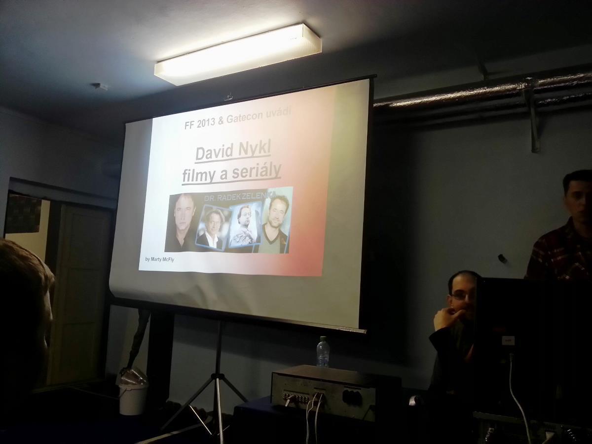 Přednáška David Nykl ve filmech a seriálech