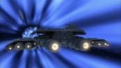 Loď 304 v hyperprostoru