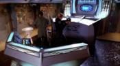 Místnost s asgardským počítačovým jádrem na lodi 304