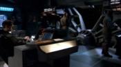 Přední část můstku lodi 304