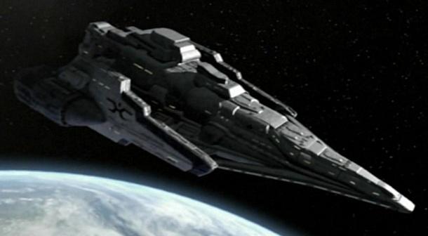Mimozemská loď z alternativní reality