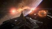 Anubisova loď ničí Yuovu flotilu