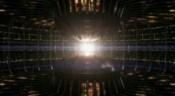 Prostor s energetickým jádrem Anubisovy lodi