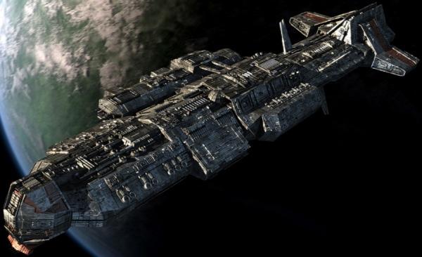 Bitevní loď třídy Aurora - schéma