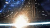 Výbuch FTL motoru Destiny