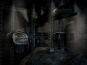 Raketoplán v hangáru asteroidu