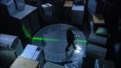 Sken v transportním modulu