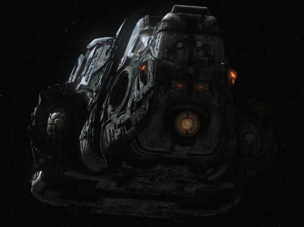 Mateřská loď modrých mimozemšťanů