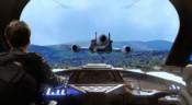 Jumper následuje olesianský proudový letoun do metropole
