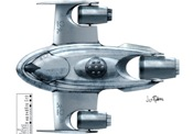 Schema olesianského proudového letounu
