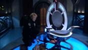 Ovládací křeslo orijské válečné lodi