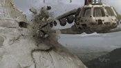 Srážka raketoplánu se skálou