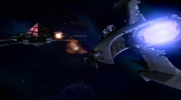 Replikátorská hlídková loď