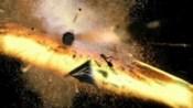 Tel'tak s SG-1 uniká explozi měsíce Netu