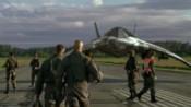 X-301 na letišti