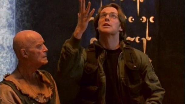 Michael Shanks v epizodě Tantalova  muka