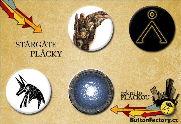 Ukázka Stargate placek