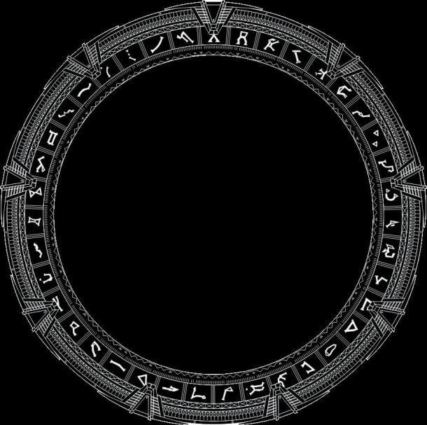 Rozložení symbolů na hvězdné bráně