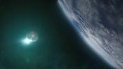 Výstup Atlantidy z hyperprostoru