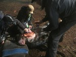 BTS z epizody SGU 2x16 The Hunt