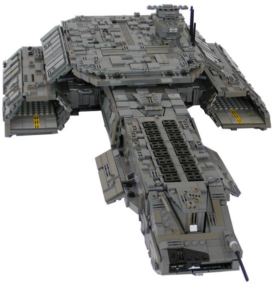 LEGO pozemská vesmírná loď Daedalus