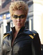 Alaina jako Black Canary