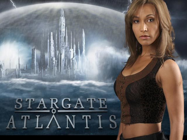 Rachel Luttrell jako Teyla Emmagan z SGA