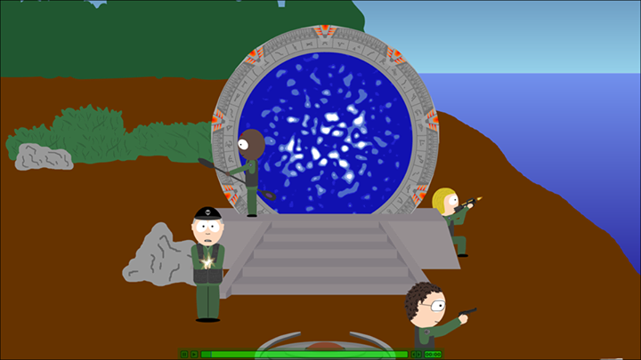 Stargate Animated 3