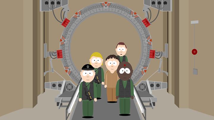 Stargate Animated 3